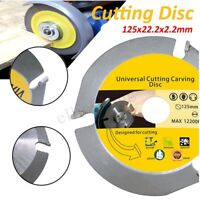 Circular Saw Blade 3T 125mm Wood Carving Cutting Disc Grinder Carbide Tipped