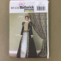 Queen Princess Royalty Dress Top Skirt SCA costume sewing pattern 6 8 10 12