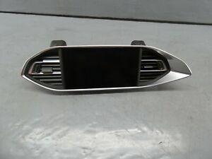 2019 Peugeot 308 5dr 1.2 Radio Stereo Media Phone Sat Nav Screen - 9828476980