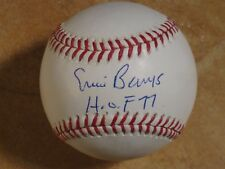 ERNIE BANKS (HOF/1977) SIGNED AUTOGRAPHED OFFICIAL RAWLINGS MLB BALL CLEAN JSA