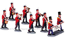 Lemax 93766 CHRISTMAS PARADE MARCHING BAND Figurine Set of 8 Village Figures G I