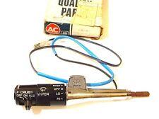 1982-1983 G-BODY CRUISE CONTROL & TURN SIGNAL LEVER WIPER SWITCH NOS