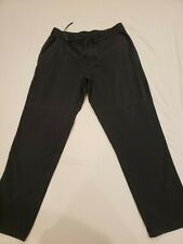 Lululemon Men's Lounge Sweatpants - Size L - Straight Leg - Charcoal Grey