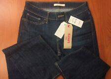 Levis 715 Boot Cut Stretch Denim Womens Jeans 28x32 ~NWT~