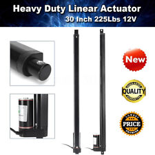 "Heavy Duty 30"" 30 Inch Linear Actuator Stroke 225 Lb Pound Max Lift 12V Volt DC"