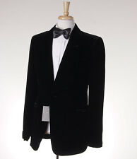 NWT $3600 TOM FORD Black Shawl Collar Velvet Blazer 48 R (Eu 58) Sport Coat