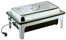 More details for sunnex commercial 9.5l electric stainless steel chafing dish with handles