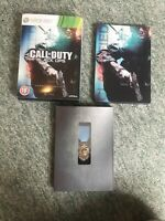 Call Of Duty Black Ops Hardened Collectors Steelbook Edition XBOX 360 Game