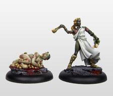 Warhammer Warriors of Chaos Amazon - Hell Dorado Sling Maiden & Maggot Bearer