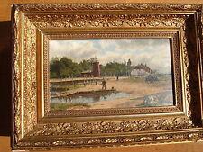 Künstlerische Malereien im Impressionismus-Holz