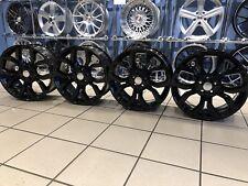 """Authentique Range Rover font 19"""" 5 Twins Spoke Alloy Wheels FK721007EB noir brillant"""