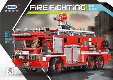XINGBAO Baukästen Wassertank Feuerwehrauto Technologie 720PCS OVP