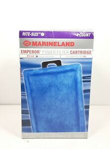 Marineland Emperor Power Filter Cartridge Rite-Size E 4 Count Replacement Cartri