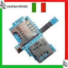 GALAXY SL GT i9003 Flex Lettore SCHEDA SIM+MICRO SD Card Ricambio per  SAMSUNG