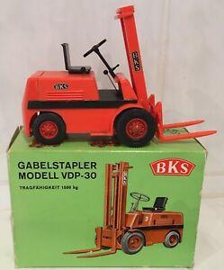 Wader BKS Oldtimer forklift fork lift truck NEARLY MINT IN BOX