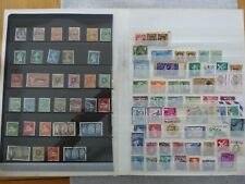 More details for commonwealth/foreign stamps,covers full sheets in a stockbook