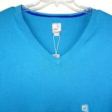 JCP Sweater Size 4XL Aqua Blue Long Sleeve 5% Cashmere/95% Cotton Soft Pullover