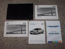2013 Buick Regal Owner Operator User Guide Manual Premium Turbo GS 2.0L 2.4L