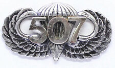 507th Airborne Jump Wing Badge US Army Military Parachute Infantry Pin