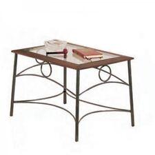 Tavolino in Ferro Battuto  Piano in Vetro