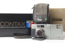 Top Nuovo di zecca con scatola Contax T 35mm fotocamera a telemetro con Pellicola T14 Flash DAL GIAPPONE 439