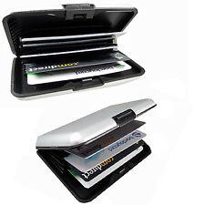 2x Portemonnaie Geldbörse Etui Geldmappe Kreditkartenbörse aus  ALU RFID sicher