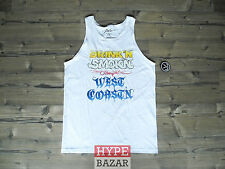 JSLV | WEST COAST TANK TOP NEU FARBE:WHITE GR:L JUST LIV´N - NOW OR NEVER