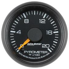 "Auto Meter Boost/Pyrometer Gauge 8345; GM Factory Match 2000°F 2-1/16"" Electric"