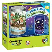 Creativity for Kids Grow 'N Glow Terrarium Science Educational Kit (1137000)