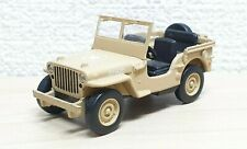 1/64 Kyosho JEEP WILLY'S MB BROWN diecast car model