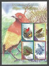 Papouasie 2010 oiseaux bloc neuf ** 1er choix