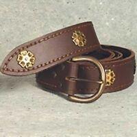 Medieval Brown Knightly Belt