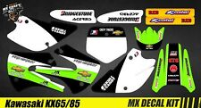 Kit Déco Moto / Mx Decal Kit Kawasaki KX 65/85 - Chevy Trucks