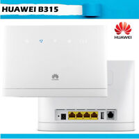 Unlocked Huawei B315s-22 4G 150Mbps CPE FDD/TDD-LTE Home Broadband Modem Router