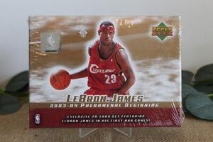 2003-04 Upper Deck LEBRON JAMES Rookie Phenomenal Beginning Sealed Box Set