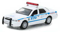 Greenlight 1:64 2011 Ford Crown Victoria Police Interceptor Car NYPD 42822