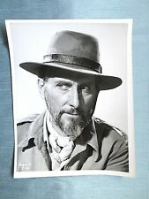 PETER CUSHING  - FILM STAR - BLACK AND WHITE PHOTOGRAPH - #1