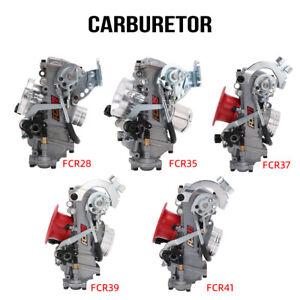 FCR Carburetor Carb for 28-41mm 110cc-650cc Flat Racing Slant Side Motorcycle