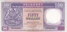 HONG KONG (HSBC) : 50 DOLLARS 1992 NEUF - P.193c
