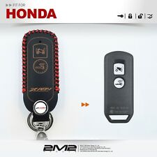 Leather Key fob Holder Case Chain Cover FIT for 2017 HONDA XADV