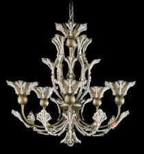 Schonbek 7862-22 RIVENDELL HEIRLOOM GOLD 5 Light Chandelier / Swarovski crystal