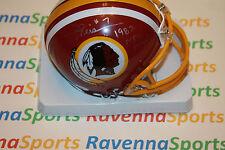 Joe Theismann Signed Redskins Mini Helmet W/ NFL MVP JSA Witnessed