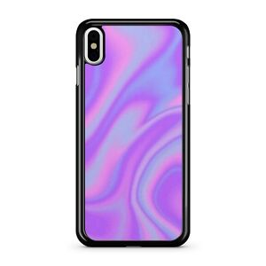 Mixed Purple Swirly Magical Funky Groovy Beautiful Colours 2D Phone Case Cover
