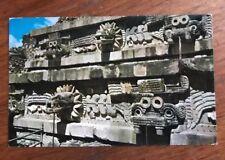 Tablero en el Templo de Quetzalcoatl San Juan Teotihuacan Mexico Postcard