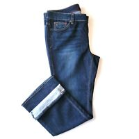 Women's Tommy Hilfiger Jeans Freedom Boot Stretch Dark Wash Plus Size 16S