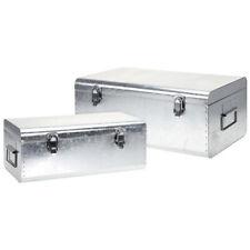 2x Aufbewahrungsbox aus Metall