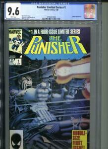 PUNISHER LIMITED SERIES #1 CGC 9.6 Mike Zeck Marvel
