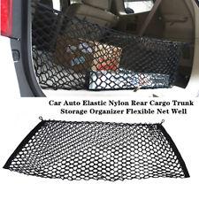 Car Auto Elastic Nylon Rear Cargo Trunk Storage Organizer Flexible Universal Kit