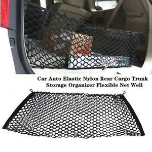 Car Auto Elastic Nylon Rear Cargo Trunk Storage Organizer Flexible Universal Kit