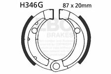 FIT BOMBARDIER/BRP DS 50 (2 stroke) 02>06 EBC FRONT GROOVED BRAKE SHOES